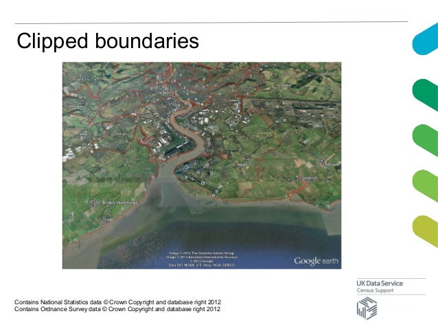 Clipped boundariesContains National Statistics data © Crown Copyright and database right 2012Contains Ordnance Survey data...