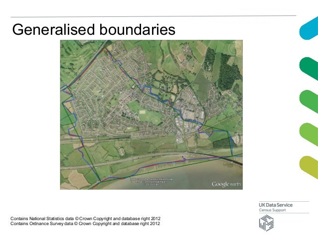Generalised boundariesContains National Statistics data © Crown Copyright and database right 2012Contains Ordnance Survey ...