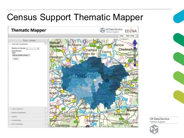 Census Support Thematic Mapper