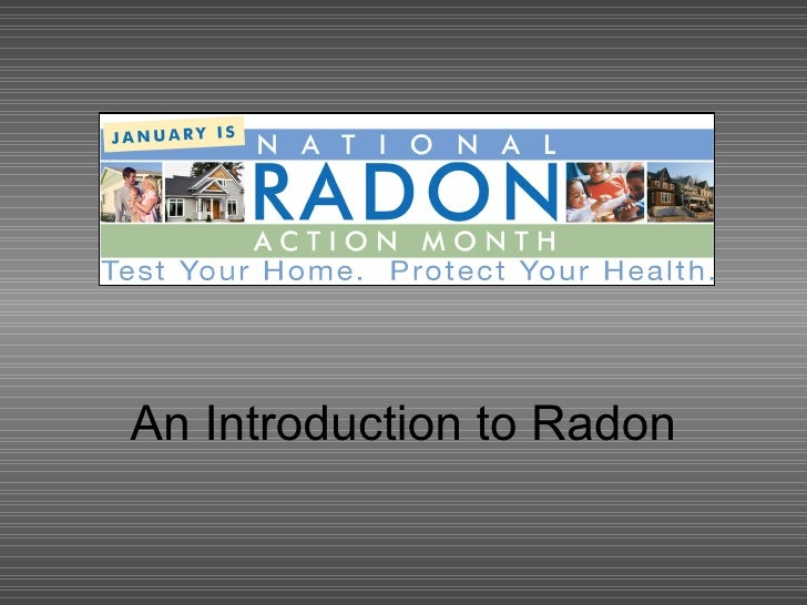 An Introduction to Radon