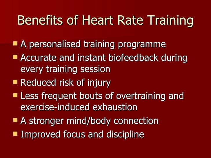 Benefits of Heart Rate Monitor