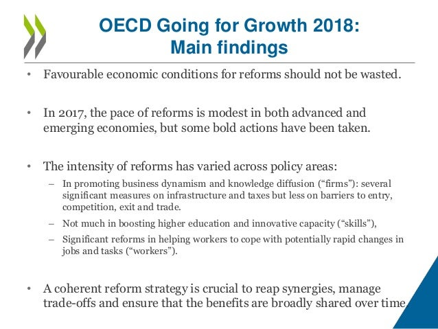 An opportunity that governments should not miss OECD Going
