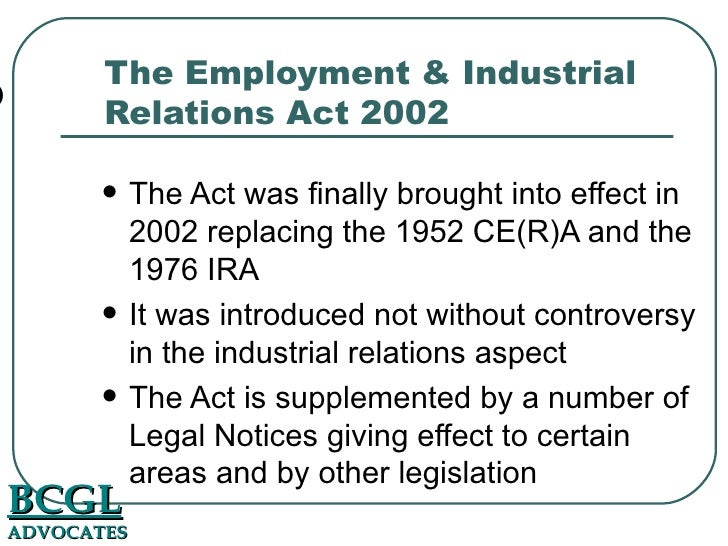 Labour Relations Act 66 of