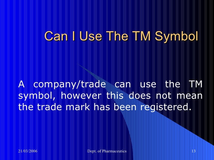 An Overview Of Trademarks Copyrights And Patents