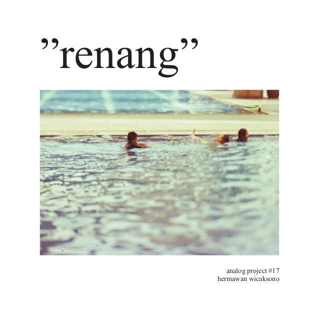 "analog project #17 hermawan wicaksono ""renang"""