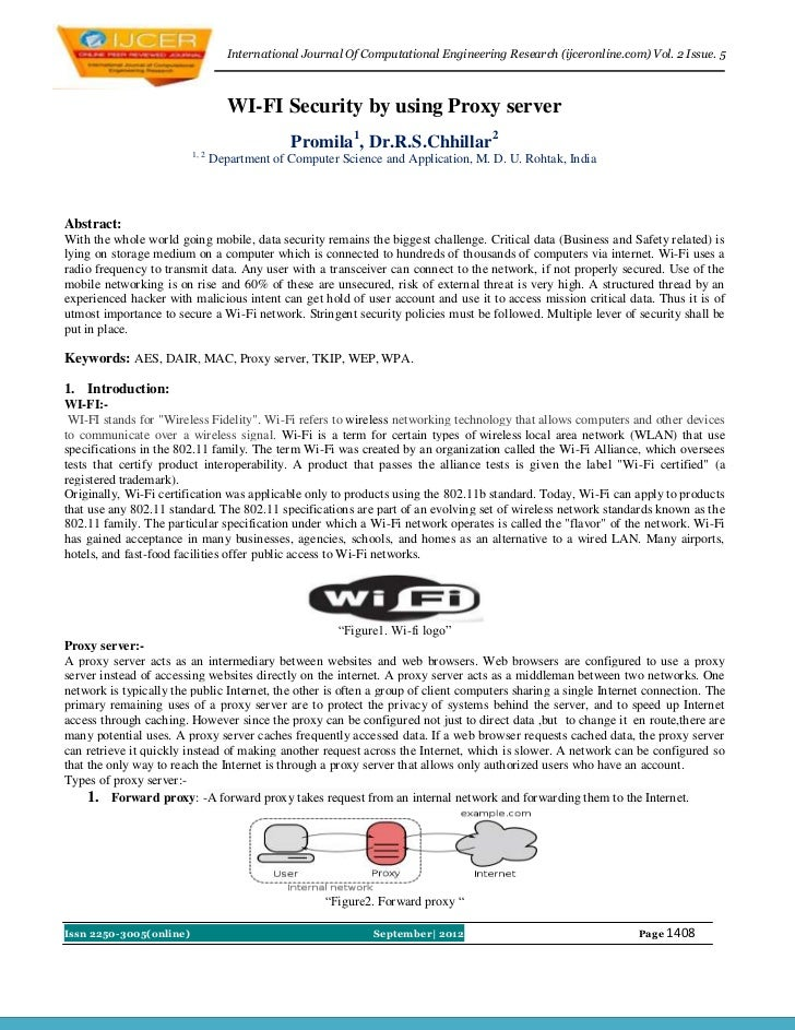 International Journal Of Computational Engineering Research (ijceronline.com) Vol. 2 Issue. 5                             ...