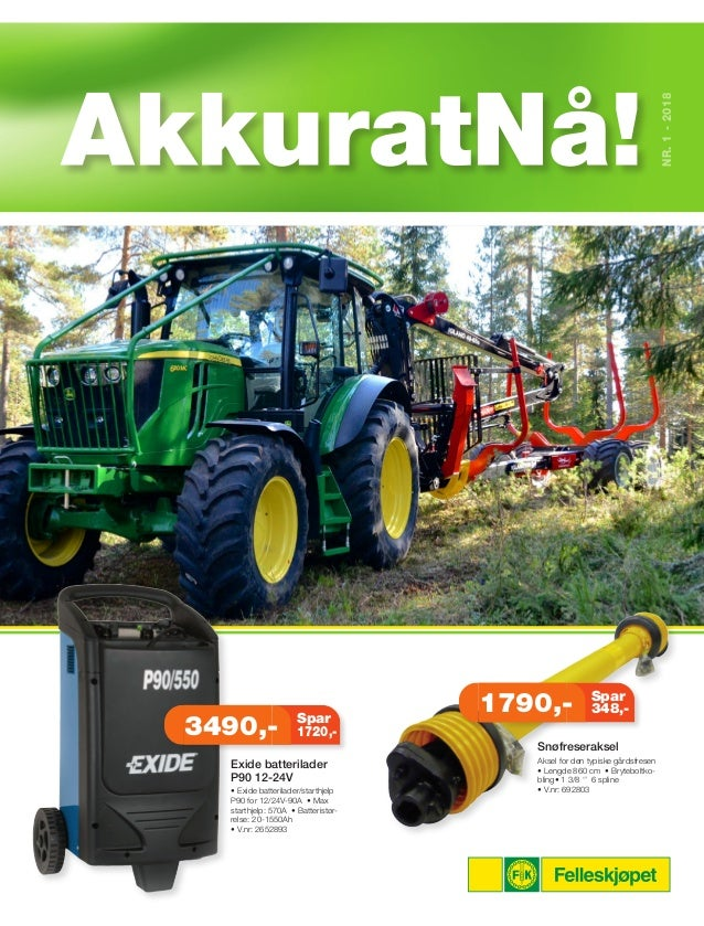 09ec2250 NR.1-2018 Snøfreseraksel Aksel for den typiske gårdsfresen • Lengde 860 cm  ...