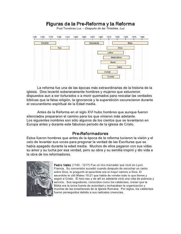 FigurasdelaPreReformaylaReforma                     PostTenebrasLux–DespuésdelasTinieblas,Luz            ...