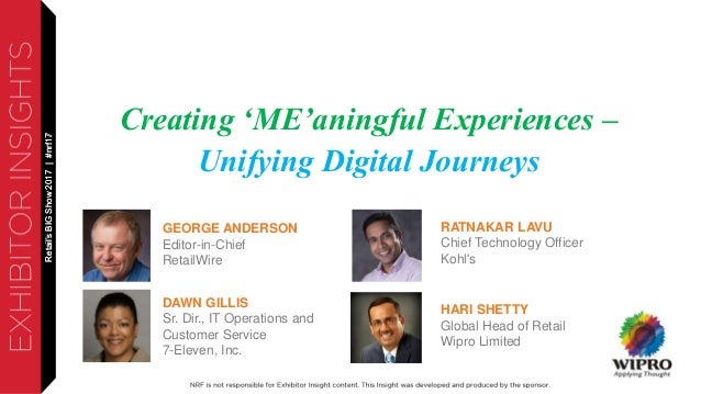 Creating MEaningful Experiences - Unifying Digital Journeys
