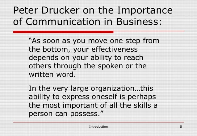 the importance of spoken communication written communication and time management Oral and written communication  of hospital and health care management in  different types of business communication and their importance in an.