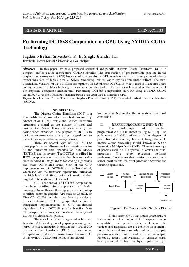 Jitendra Jain et al. Int. Journal of Engineering Research and Application www.ijera.com Vol. 3, Issue 5, Sep-Oct 2013, pp....