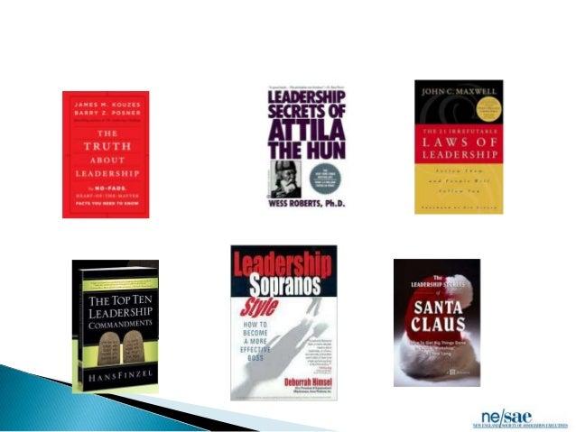 Book report on leadership