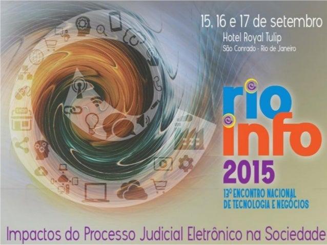 Implementação do processo judicial eletrônico Desafios e Experiências Ana Amelia Menna Barreto