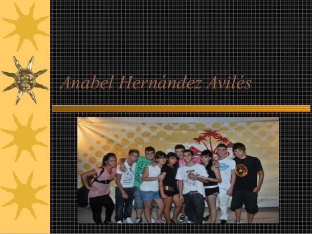 Anabel Hernández Avilés