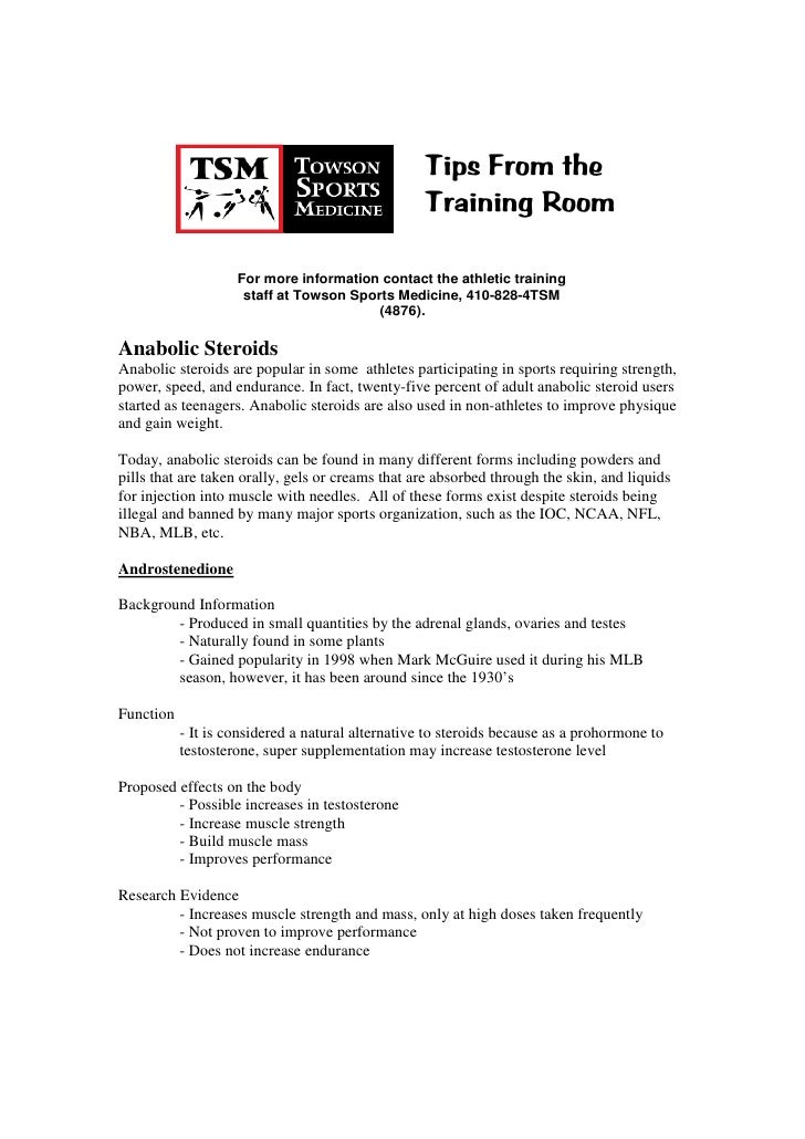 Tips From the                                                    Training Room                      For more information c...