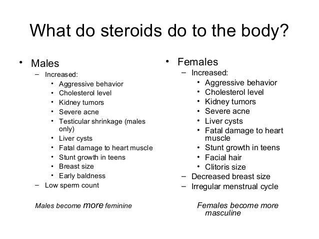 steroids and sperm motility