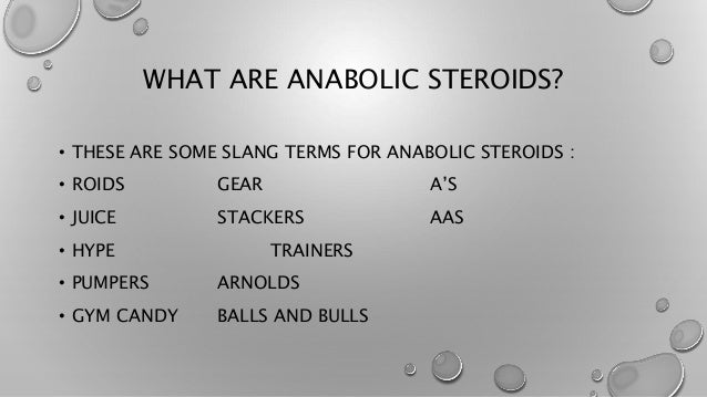 Slang terms for steroids balkan pharmaceuticals dianabol