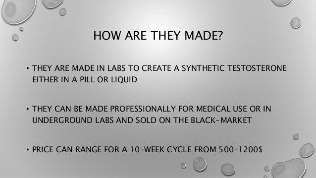 underground steroid labs list