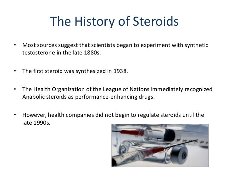 Anabolic steroids 101 learn about the history of steroids