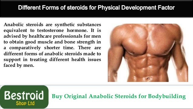 Anabolic Steroids for Bodybuilding