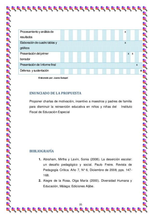 Procesamiento y análisis de                                               xresultadosElaboración de cuadro tablas y       ...