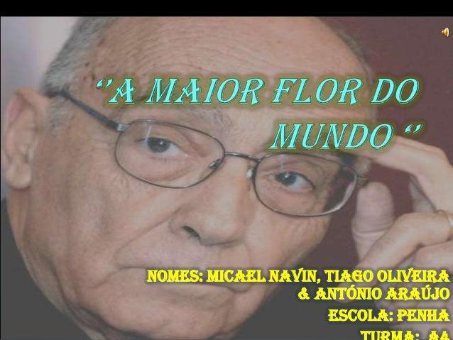 Nomes: Micael Navin, Tiago Oliveira                 & ANTÓNIO ARAÚJO                     Escola: Penha