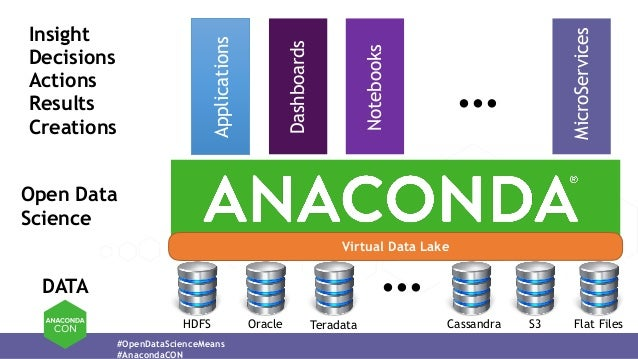 Reaching the Full Potential of a Data-Driven World with Anaconda