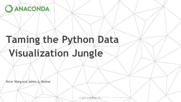 Taming the Python Data Visualization Jungle