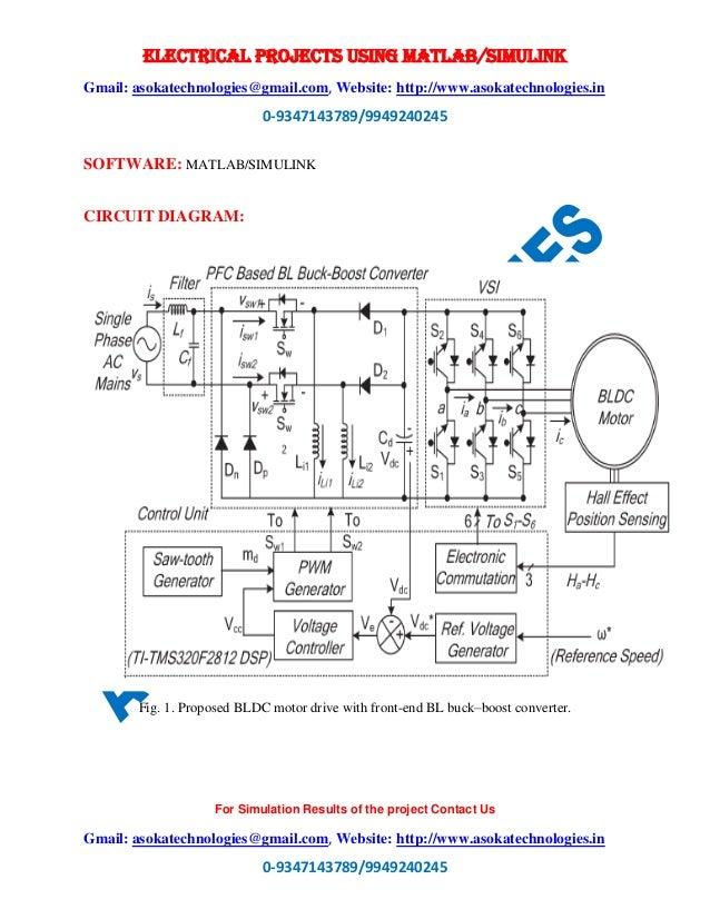 An Adjustable-Speed PFC Bridgeless Buck Boost Converter-Fed