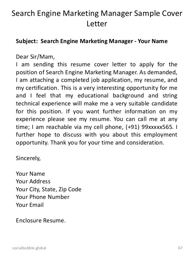 Cover letter online marketing manager , Tips for High School Essay ...