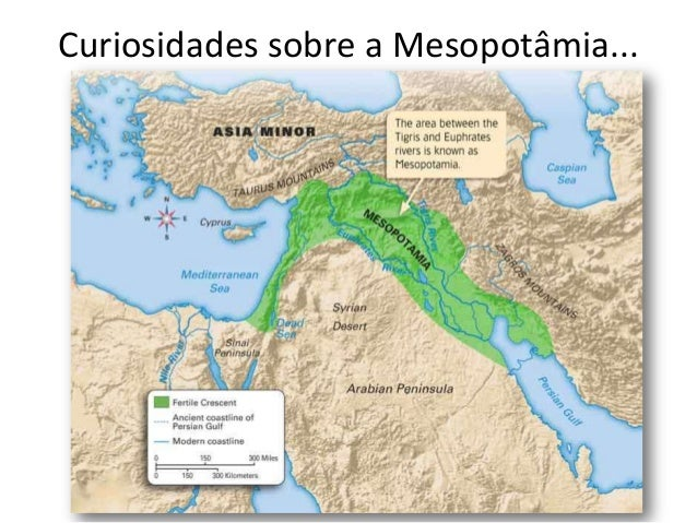 Curiosidades sobre a Mesopotâmia...