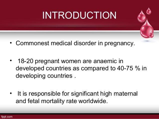 Anaemia in pregnancy Slide 2