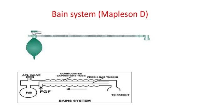 Bain system (Mapleson D)