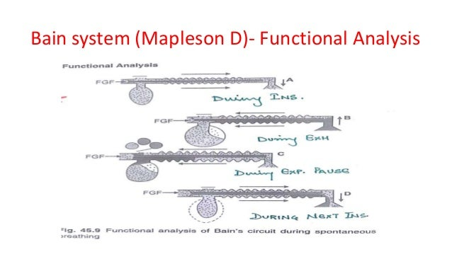 Bain system (Mapleson D)- Functional Analysis