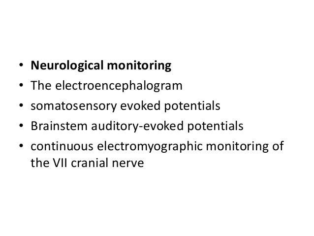 Anaesthetic considerations for posterior fossa surgery for Motor evoked potential monitoring