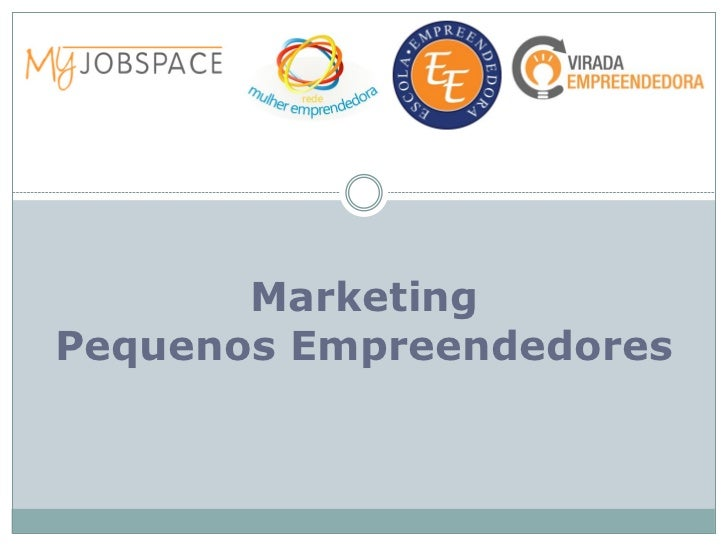MarketingPequenos Empreendedores