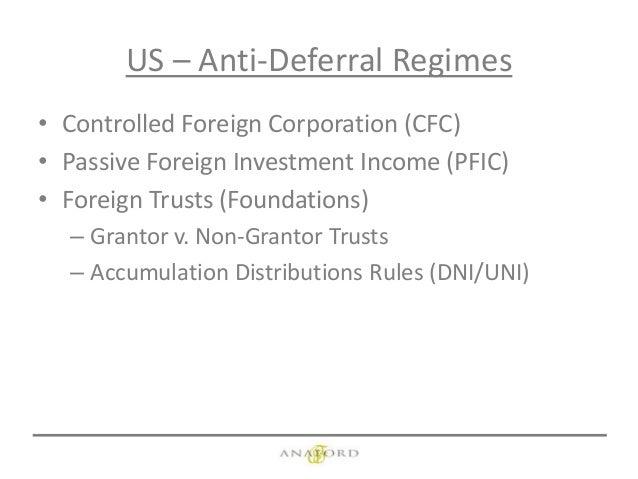 foreign nongrantor trust net investment tax