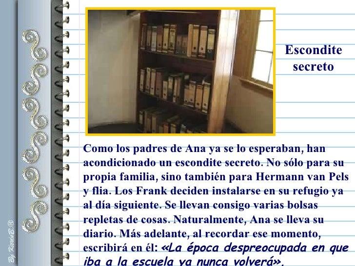 Ana frank - Escondites secretos en casa ...