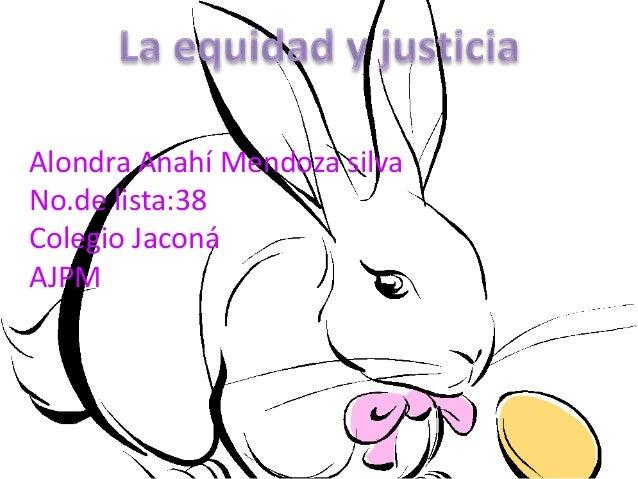 Alondra Anahí Mendoza silvaNo.de lista:38Colegio JaconáAJPM