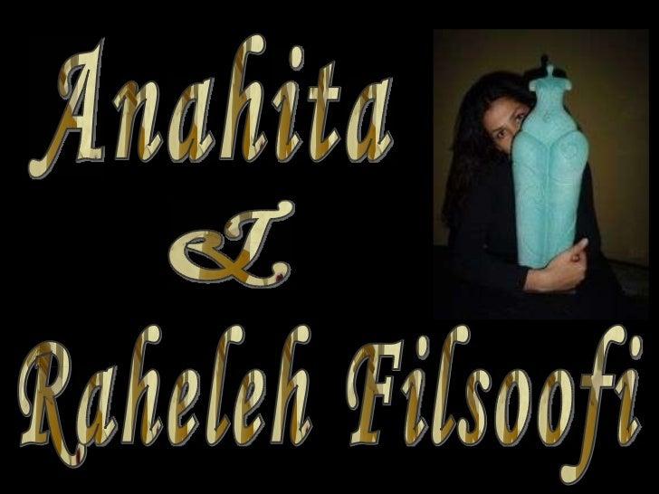 & Anahita Raheleh Filsoofi