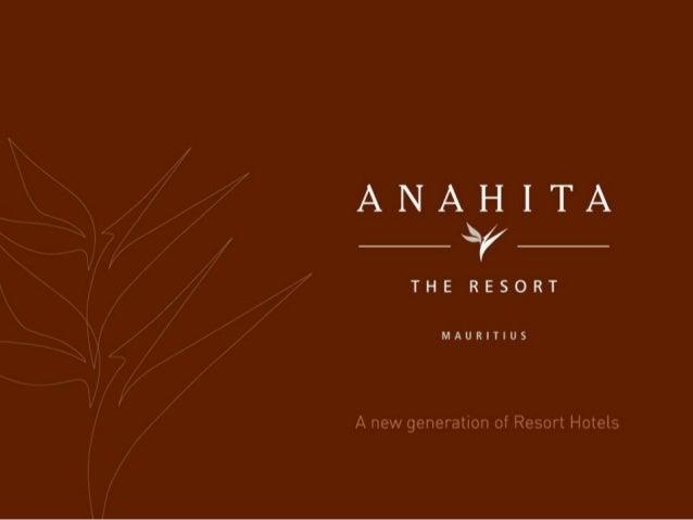 Niché au coeur d'unsanctuaire naturel de 213hectares, Anahita TheResort est situé sur lacôte est de l'Ile Maurice,en face ...