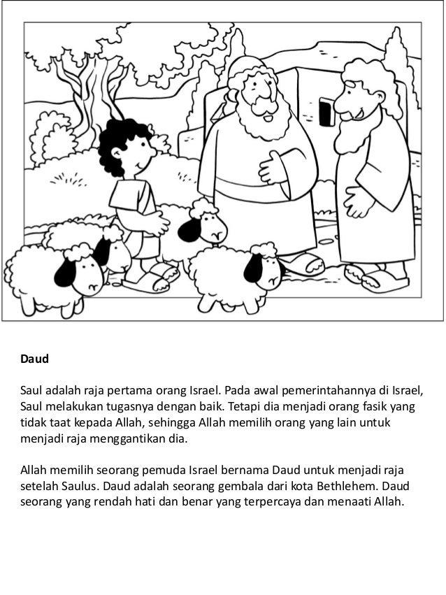 Anak Anak Dan Remaja Dalam Alkitab Buku Mewarnai
