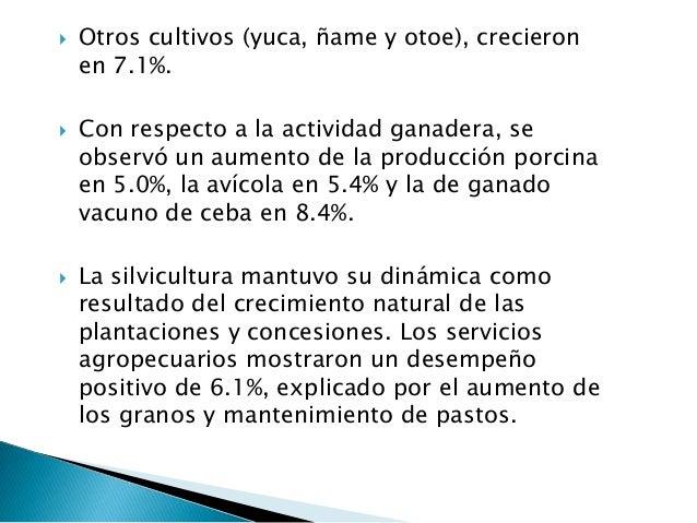    Hoteles y restaurantes:El valor agregado trimestral del sector registró un  incremento de 5.0%, explicado por el creci...
