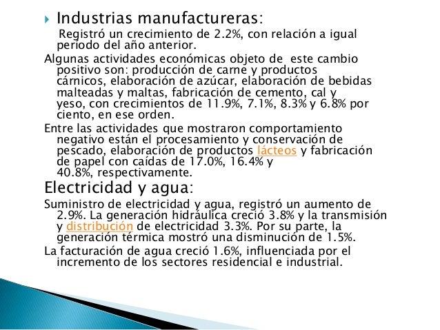    Intermediación financiera:La intermediación financiera registró un leve incremento  de 3.8%, impulsada por el desempeñ...