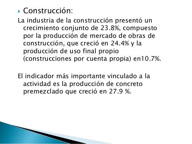    Enseñanza privada:Mostró un crecimiento a nivel total de 5.5%, efecto del aumento en el número de matrículas del nivel...