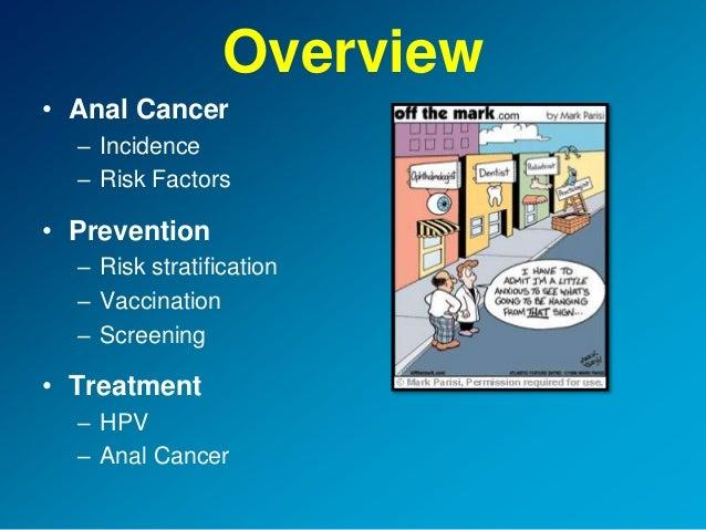 Anal cancer risk factors