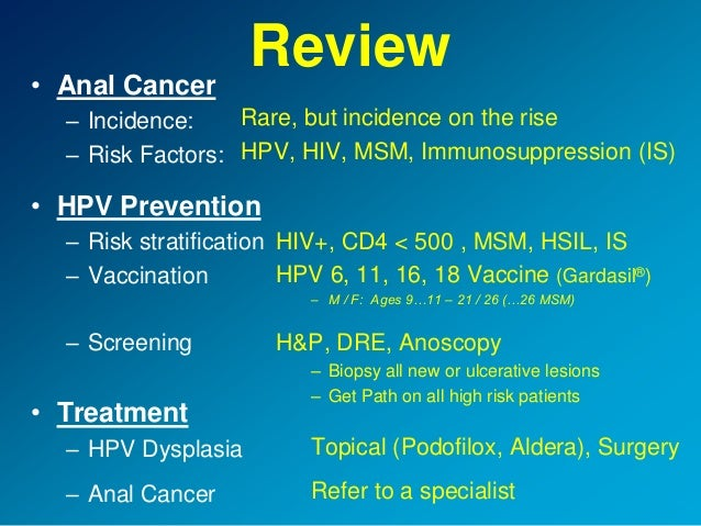 Treatments for anal hpv — img 1