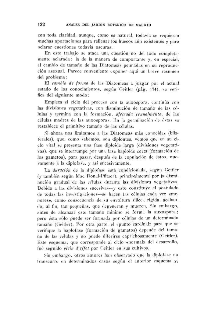 Multiplicacion vegetativa diatomeas for Anales del jardin botanico