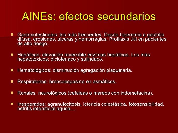 Analgesicos Y Antiinflamatorios