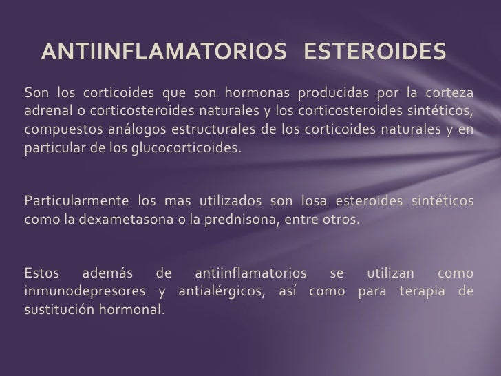cuales son los analgesicos no esteroides